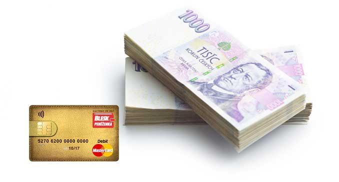Konec blesk peněženky