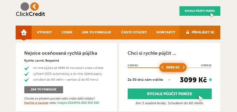 Půjčka Click Credit