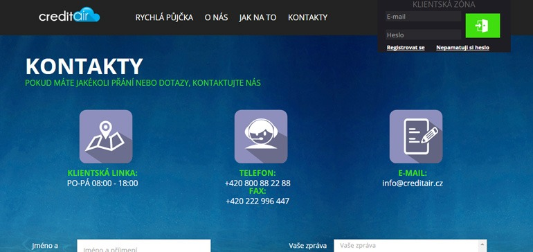 CreditAir.cz