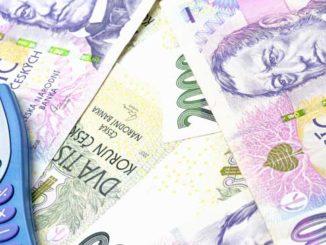 Peníze z půjčky od banky