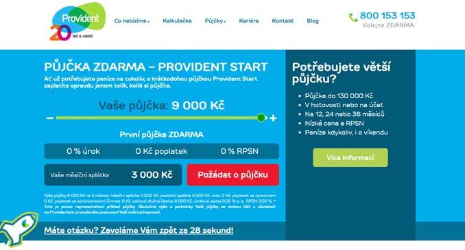 Provident Start od Provident Financial s.r.o.