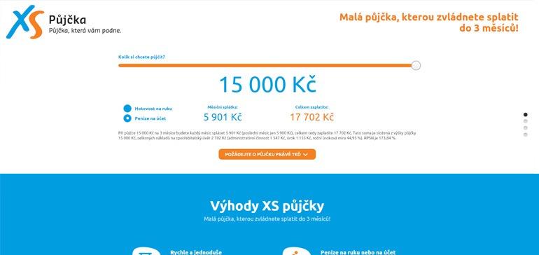 Rychlá XS půjčka od Provident Financial s.r.o.