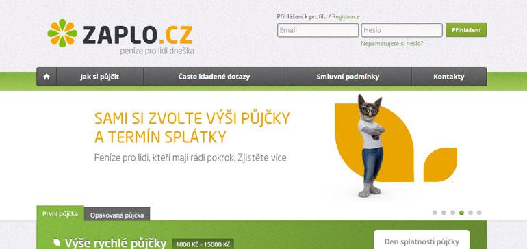 Zaplo.cz - recenze, zkušenosti podvod